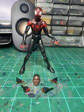 Marvel Legends Miles Morales Spiderman Space Venom Wave