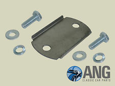 TRIUMPH SPITFIRE,GT6,HERALD,VITESSE BONNET TUBE SUPPORT PLATE & BOLT FITTING KIT