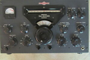 NO RESERVE GREAT LOOKING WORKING COLLINS 75A-4 RECEIVER 3 FILTERS   32 KWM KWS