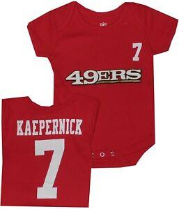 San Francisco 49ers Colin Kaepernick Infant Newborn Bodysuit Team Apparel