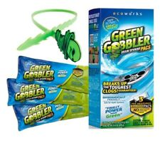 Green Gobbler Drain Opening Packs- 3 Packs Per Box NEW