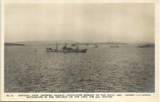 More details for scapa flow, orkney. scuttled german destroyers sinking # 14 by c.w.burrows.