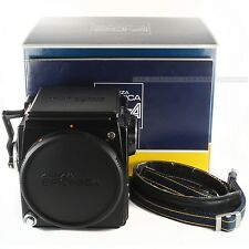 Boxed Zenza Bronica SQ-A 6x6 Body Medium Format Camera + Screen + Crank + Strap