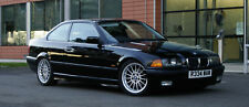 PAINTED BMW 3 SERIES E36 COUPE BOOT LIP SPOILER -GLOSS BLACK
