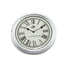 Resin Miniature Round Wall Clock Dollhouse Decoration Accessories Decor Toy Wide