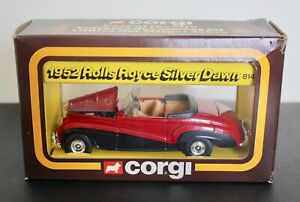 Corgi 814 1952 Rolls Royce Silver Dawn Mint & Boxed.