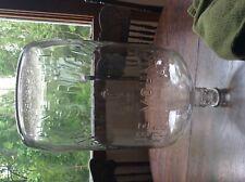 Vintage embossed  Pine Hill Crystal Spring 5 Gallon Water Bottle