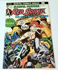 Marvel Feature #1 RED SONJA Frank Thorne Cover/Art 1st Solo Book Bronze Age