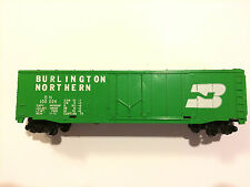 Burlington Northern BOXCAR #100024 HO Scale Train Box freight car Made in USA