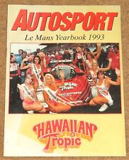 Autosport 1993 LE MANS YEARBOOK - Jaguar XJ220, Coulthard, Sportscars' Future
