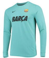 Nike FC Barcelona Men's Champions League Match LS Soccer Jersey Shirt XXL 2XL