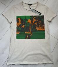 Tigha Herren T-Shirt Califonication MSN Vintage Sand Größe M