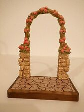 Anri Fernandez carved wood sculptures Rose Gate display for Club Collectors only