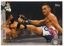 2015 Topps UFC Chronicles Silver Parallel #153 Max Holloway