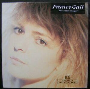 """FRANCE GALL """" LES ANNEES MUSIQUE """" 2LP/33T FR n°9031-71108-1 / WEA / 1990 / POP"""