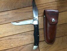 KA-BAR OLEAN NY TRAPPER KNIFE DOUBLE USA KNIFE VINTAGE