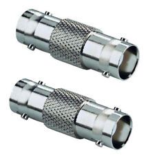 2 PACK BNC TO BNC COUPLER CONNECTOR JOINER CCTV CAMERA CABLE EXTENTION SOCKET