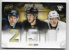 13/14 PANINI PRIME TRIOS GAME JERSEY #TSC Sidney Crosby #27/100