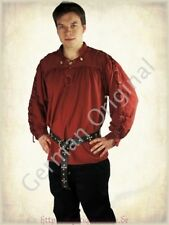 Landlord Medieval Shirt Laced Up Pirate Reenactment SCA Renaissance Knight