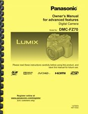 Panasonic Lumix DMC-FZ70 Camera ADVANCED OWNER'S MANUAL