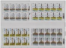 Belgie**VUURTORENS-4 Vellen x 10zgls-2006-LIGHTHOUSES-PHARES-FAROS