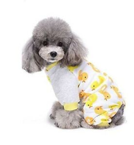 Rubber Ducky  Pajama's for Dog Size Medium