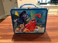 Nice New Disney Pixar Finding Dory Metal Lunch Box