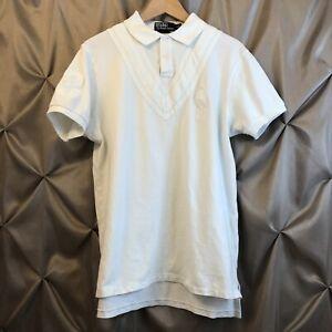 Polo Ralph Lauren Men's Custom Fit Big Pony Polo Shirt White/White Large