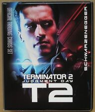 Terminator 2 Judgment Day Trading Card Binder with B1 & B2 Promo Trading Cards
