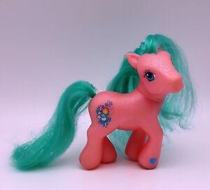 Mlp My Little Pony G3 Pink Bunches O Fun Aqua Glitter Sparkle Bouquet 2004