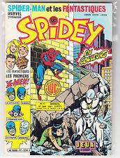 ! Rare SPIDEY N°17 en TRES BON ETAT (X-MEN, STRANGE N°1) sous plastique !