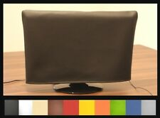Schutzhülle f. alle TV Geräte aus Kunstleder - für alle Modelle in 10 Farben