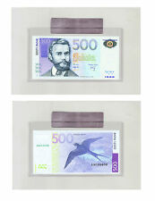 ESTONIA - 500 krooni 2007 UNCIRCULATED banknote in BANK HOLDER