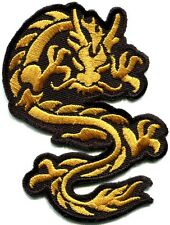 Chinese dragon kung fu martial arts biker tattoo applique iron-on patch S-363