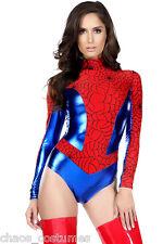 Spiderman Spider Woman Super Hero Comic Character Halloween Costume Small 6 - 8