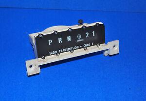 1987-1991 Ford F150 F250 BRONCO Cambio Indicador E4OD Trans OEM Cable Corte