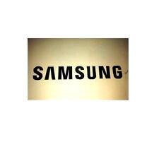 1x Gold Samsung Sticker TV Laptop Ipad Mobile 90mm x 13mm Approx