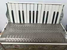 More details for vintage puratonte piano accordian in mother of pearl - good working order