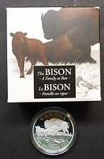 2014 CANADA ~ THE BISON ~ A FAMILY AT REST ~ SILVER PROOF