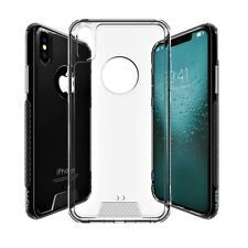For Apple iPhone X Case Slim Shockproof TPU Protective Cover Bumper Clear