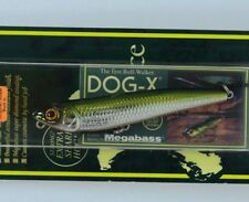 Megabass Dog-X Sliding minnow 2001 1/4 oz Lure Made in Japan /r4