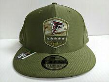 Atlanta Falcons Cap New Era 9Fifty Snapback 2019 Salute to Service Hat NFL