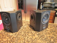 Jamo C60 SUR Wall mount speakers pair with manual black finish