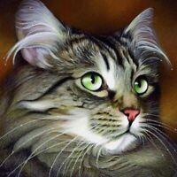 5D DIY Full Drill Diamond Painting Cross Stitch Kits Art Festival Decor Cat