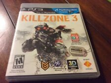 Killzone 3 Game For Playstation 3 System PS3 - Includes Case & Manual