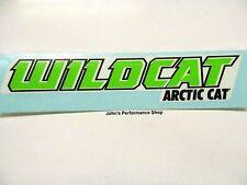 "OEM Arctic Cat Green Wildcat Decal 6"" x 1"" 5239-744"