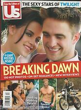 US Twilight Breaking Dawn magazine Robert Pattinson Kristen Stewart 150 photos