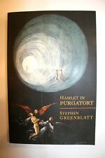 Hamlet In Purgatory Stephen Greenblatt FREE SHIPPING!