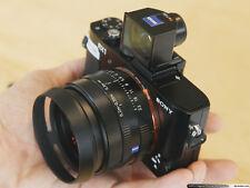 Black Metal Lens Hood for Sony Cyber-shot DSC-RX1R DSC-RX1R II DSC-RX1