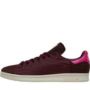 Womens Adidas Originals Stan Smith Mesh Purple Trainers (TGF43) RRP £74.99
